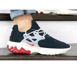 Купить Мужские кроссовки Nike Air Presto React темно-синие с бежевым в Украине