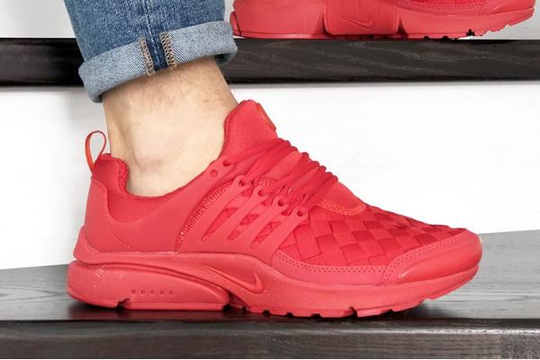 Мужские кроссовки Nike Air Presto TP QS красные