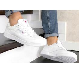 Мужские кроссовки Reebok C85 белые