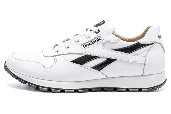 Мужские кроссовки Reebok Classic Leather белые
