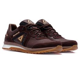 Купить Мужские кроссовки Reebok коричневые в Украине