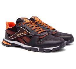 Мужские кроссовки Reebok коричневые