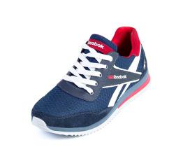 Мужские кроссовки Reebok темно-синие
