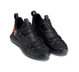 Купить Мужские кроссовки Under Armour черные в Украине