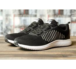 Купить Мужские кроссовки Yike Running черые с белым