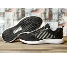 Купить Мужские кроссовки Yike Running черые с белым в Украине