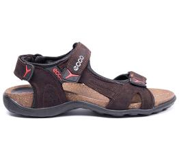 Мужские сандалии Ecco коричневые