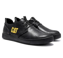 Купить Мужские туфли CAT черные в Украине