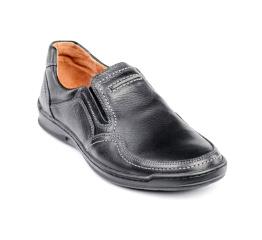 Купить Мужские туфли Comfort Walk черные в Украине