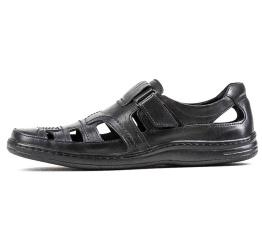 Купить Мужские туфли летние черные