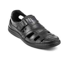 Купить Мужские туфли летние черные в Украине
