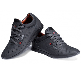 Купить Мужские туфли летние Columbia черные в Украине