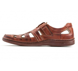 Купить Мужские туфли летние коричневые
