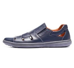 Купить Мужские туфли летние темно-синие