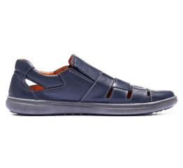 Купить Мужские туфли летние темно-синие в Украине