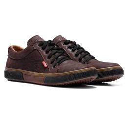 Мужские туфли Levi's коричневые