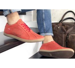 Мужские туфли Levi's красные