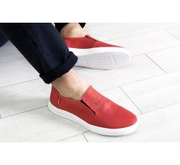Купить Мужские туфли Levi's красные в Украине