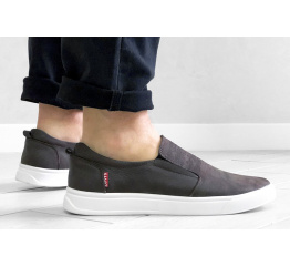 Купить Мужские туфли Levi's темно-коричневые