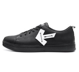 Купить Чоловічі туфлі Off White Don't Stop чорні