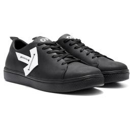 Купить Чоловічі туфлі Off White Don't Stop чорні в Украине