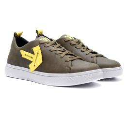 Купить Чоловічі туфлі Off White Don't Stop зелені в Украине