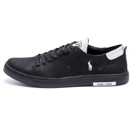 Купить Мужские туфли Polo Ralph Lauren черные