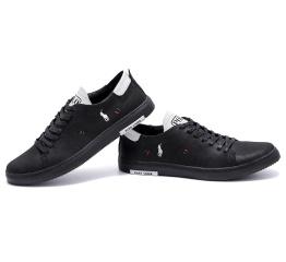 Купить Мужские туфли Polo Ralph Lauren черные в Украине