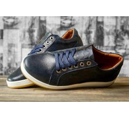 Купить Чоловічі туфлі Wrangler Dulable темно-сині в Украине