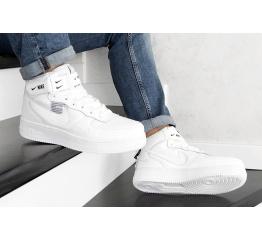 Купить Мужские высокие кроссовки Nike Air Force 1 '07 Mid Lv8 Utility белые в Украине