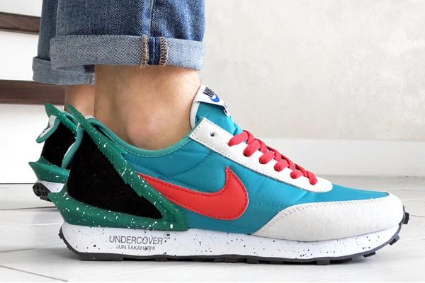 Чоловічі кросівки Nike Daybreak x Undercover Jun Takahashi бірюзові з зеленим