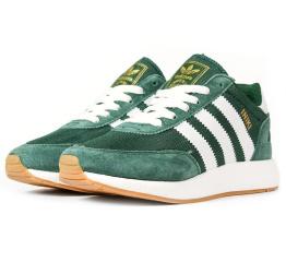 Купить Женские кроссовки Adidas Iniki Runner зеленые