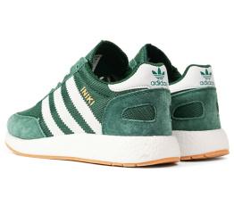 Купить Женские кроссовки Adidas Iniki Runner зеленые в Украине
