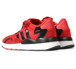 Купить Женские кроссовки Adidas Nite Jogger BOOST красные в Украине