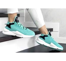 Женские кроссовки Adidas Y-3 Kaiwa бирюзовые