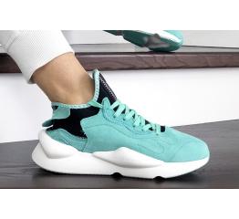 Купить Женские кроссовки Adidas Y-3 Kaiwa бирюзовые