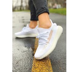Купить Женские кроссовки Adidas Yeezy Boost 350 V2 белые