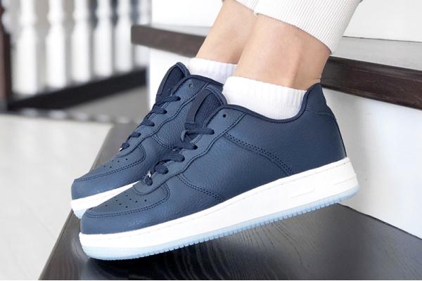 Женские кроссовки Force темно-синие