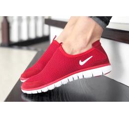 Купить Женские кроссовки Nike Air Free Run 3.0 Slip-On красные