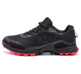Мужские кроссовки Reebok черные с красным