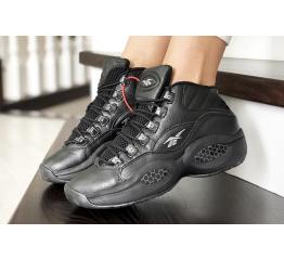 Купить Женские высокие кроссовки Reebok Question Mid черные