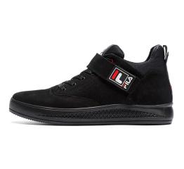 Мужские ботинки на меху Fila черные