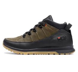 Купить Чоловічі черевики зимові Fila зелені