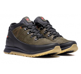 Купить Чоловічі черевики зимові Fila зелені в Украине