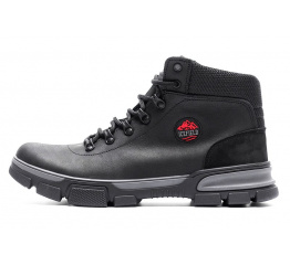 Купить Мужские ботинки на меху Icefield черные