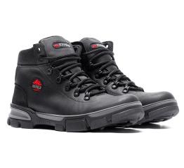 Купить Мужские ботинки на меху Icefield черные в Украине