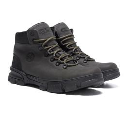 Мужские ботинки на меху Icefield темно-оливковые