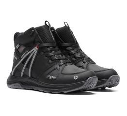 Купить Мужские ботинки на меху Merrell черные в Украине