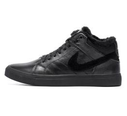 Купить Мужские ботинки на меху Nike Air High черные