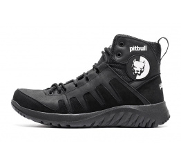 Купить Мужские ботинки на меху Pitbull черные